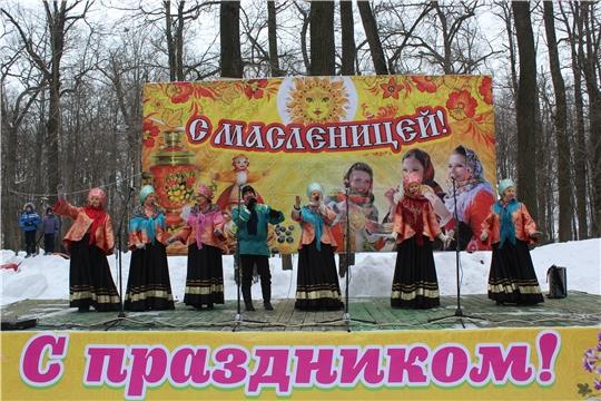 В городе Канаше состоялся праздник «Прощай, Зимушка – Зима, прощай Масленица!»