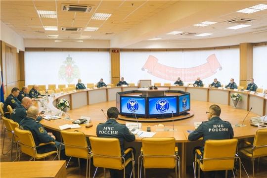 Заместители Министра МЧС России провели учебные занятия в Институте развития Академии ГПС МЧС России
