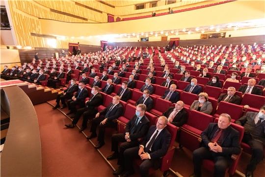 Председатель ГКЧС Чувашии Вениамин Петров: совместными усилиями можно выполнить все поставленные задачи, обозначенные в Послании