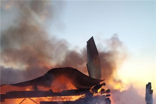 ГКЧС Чувашии: в республике растет число пожаров с трагическим исходом