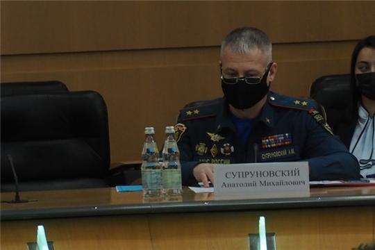 Анатолий Супруновский принял участие в заседании КЧС по вопросам дополнительных мер по обеспечению пожарной безопасности