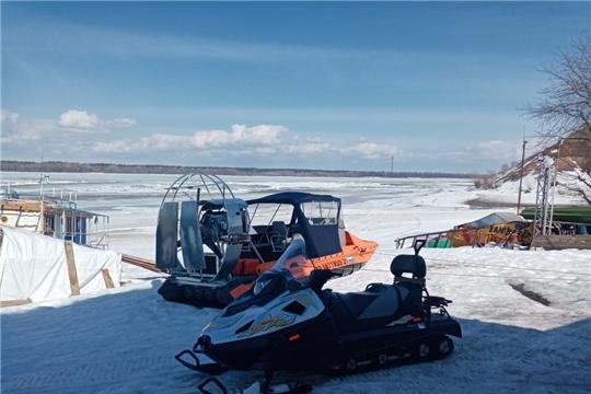 ГКЧС Чувашии: тонкий лед коварен