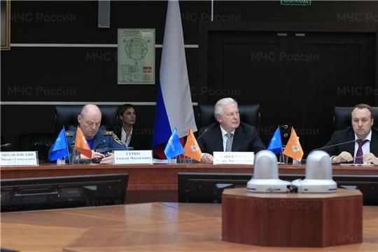Вопросы безопасности жизнедеятельности и организации поиска пропавших людей обсудили на Общественном совете при МЧС России