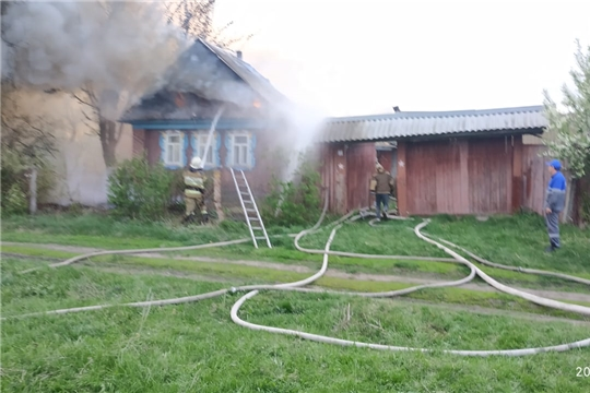 Статистика пожаров за прошлые сутки