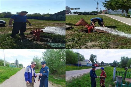 Работники 32-ой пожарной части провели обследования источников противопожарного водоснабжения Красноармейского района
