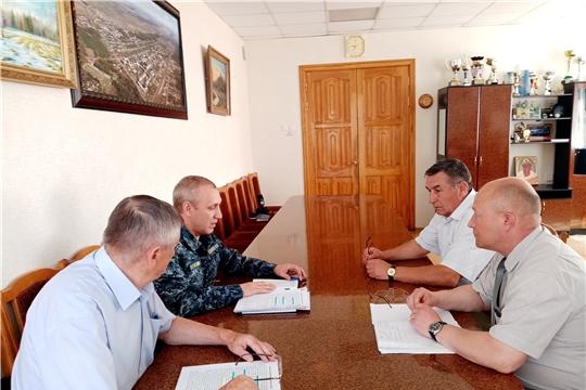 В ходе рабочей поездки в  Вурнарский и Ибресинский районы