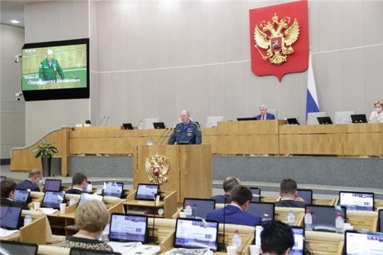 Законодательные инициативы МЧС России в области пожарной безопасности поддержаны Госдумой РФ