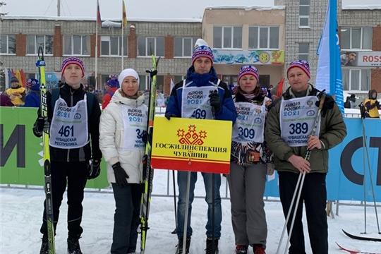 Госжилинспекция Чувашии на Всероссийской массовой лыжной гонке «Лыжня России-2021»