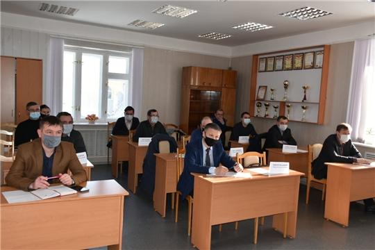 Виктор Кочетков в Козловском районе принял участие в  заседание межведомственной рабочей группы и прием граждан по вопросам жилищно-коммунального хозяйства