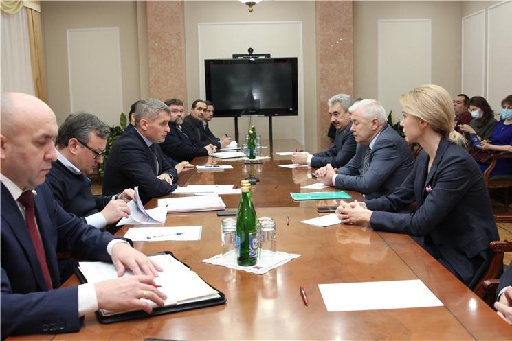 Глава Чувашии Олег Николаев встретился с депутатами Государственной Думы от Чувашской Республики