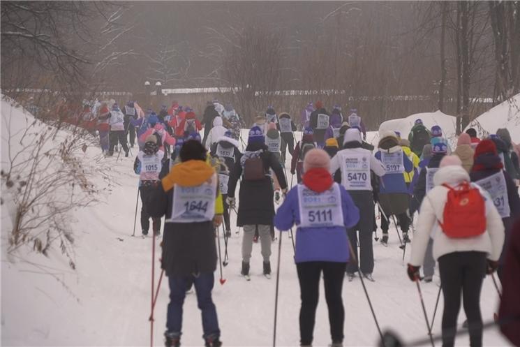 Чувашия присоединилась ко Всероссийской массовой лыжной гонке