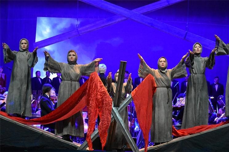 Состоялся концерт в рамках Года трудового подвига строителей Сурского и Казанского оборонительных рубежей