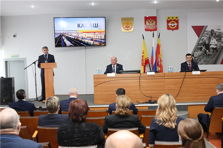 Рабочая поездка Главы Чувашии Олега Николаева в г. Канаш