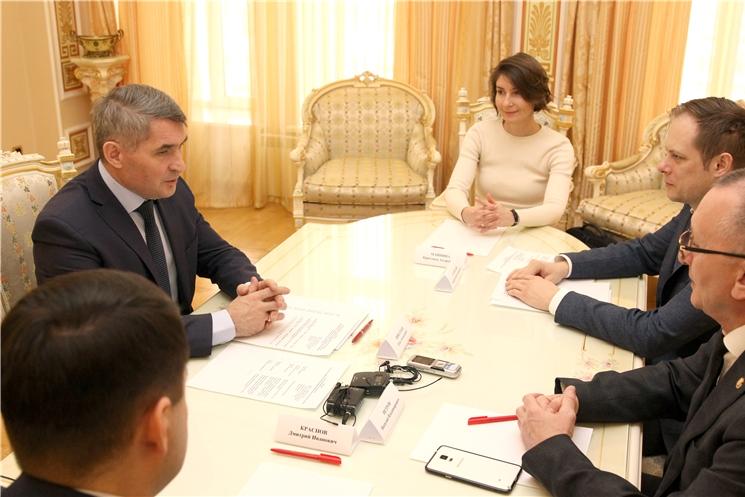 Встреча с заместителем Министра спорта Российской Федерации Андреем Константиновичем Сельским