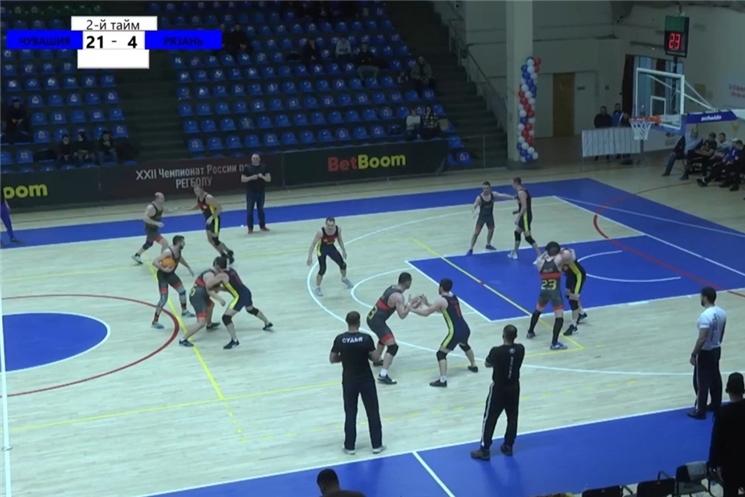 Чебоксарские регболисты вышли в финал Чемпионата России
