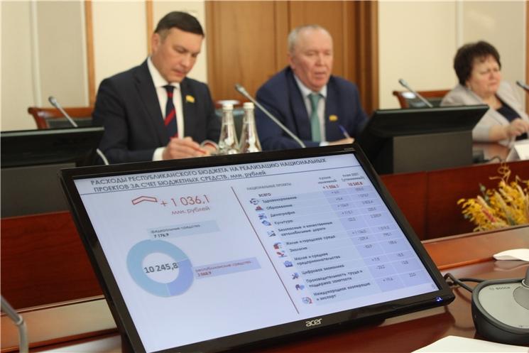 Глава Чувашии обсудил с депутатами Госсовета республики вопросы уточнения регионального бюджета