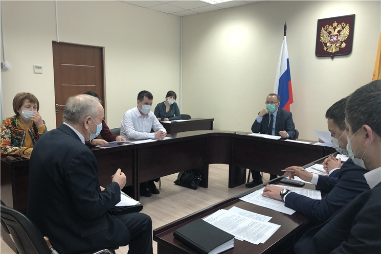 Главный федеральный инспектор по Чувашской Республике провел прием граждан