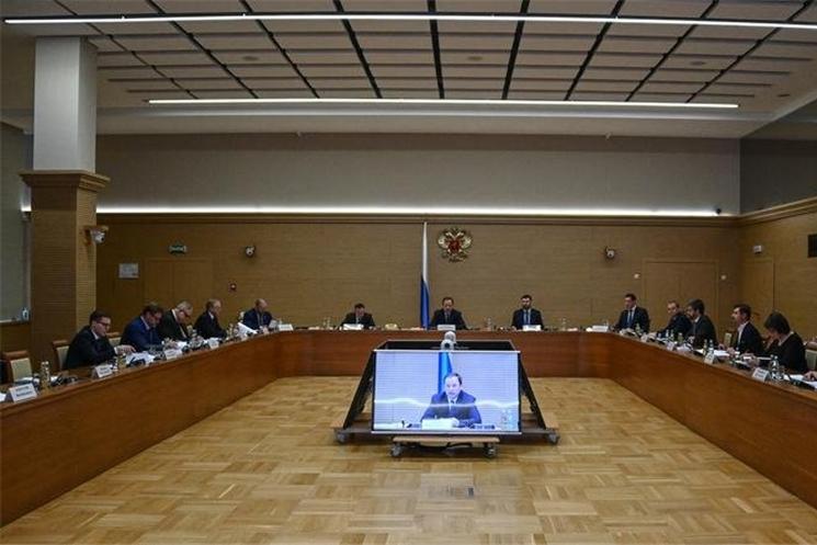 Игорь Комаров провел заседание Совета по развитию местного самоуправления