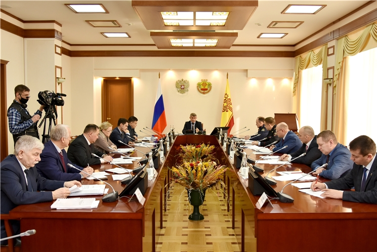 Олег Николаев провел заседание Комиссии по координации работы по противодействию коррупции в Чувашской Республике