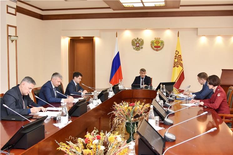 Олег Николаев провел заседание Комиссии по противодействию незаконному обороту промышленной продукции в Чувашской Республике