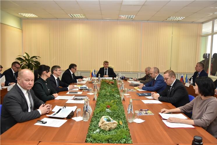 Олег Николаев провел совещание по вопросам водоснабжения и водоотведения в республике