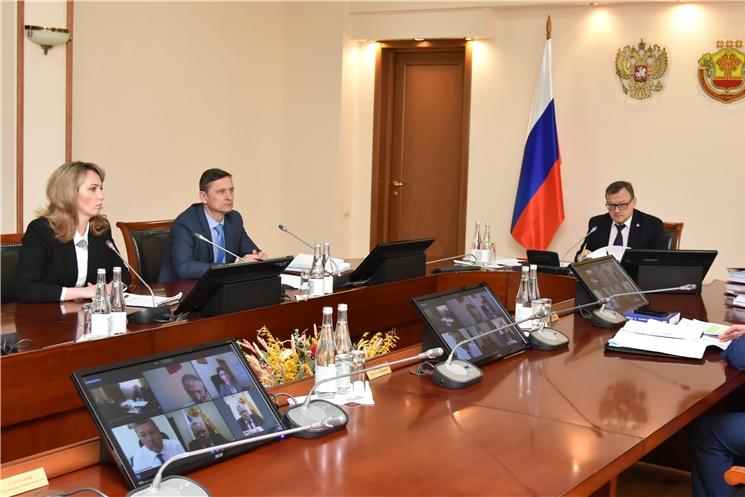 Состоялось очередное заседание Кабинета Министров Чувашской Республики