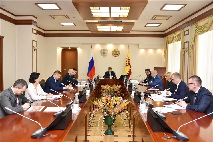 Грядущую модернизацию теплосетевого комплекса Чебоксар и Новочебоксарска обсудили на еженедельном совещании