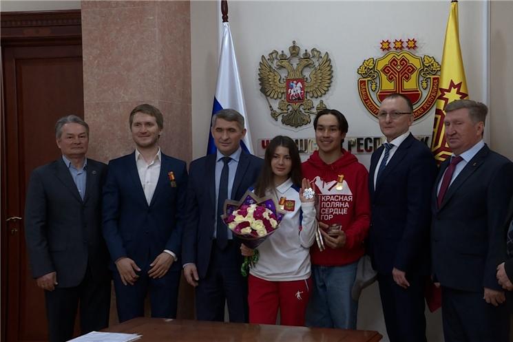 Глава Чувашии поблагодарил спортсменов за победу на кубке мира по фристайлу.