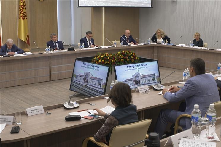 На заседании Высшего экономического совета Чувашии обсудили социально-экономическое развитие Козловского и Урмарского районов.