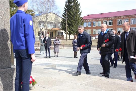 Праздничный митинг в честь Дня космонавтики и 60-летия полета в космос Ю.А. Гагарина в с. Шоршелы