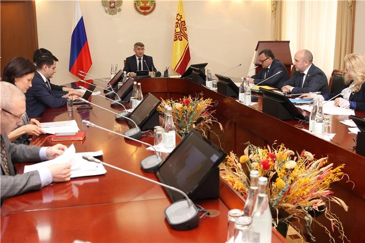 Олег Николаев провел еженедельное совещание