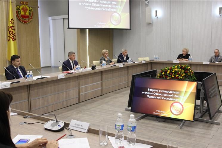 Олег Николаев утвердил кандидатов в члены Общественной палаты Чувашской Республики