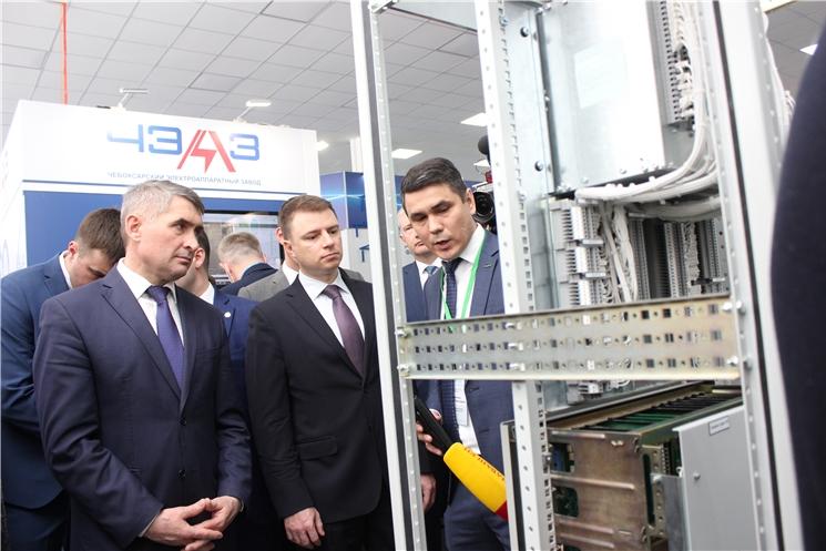В столице Чувашии при поддержке Минпромторга России проходит форум «РЕЛАВЭКСПО-2021»