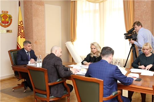 Совещание по вопросу строительства мемориального комплекса «Строителям безмолвных рубежей» в Козловском районе