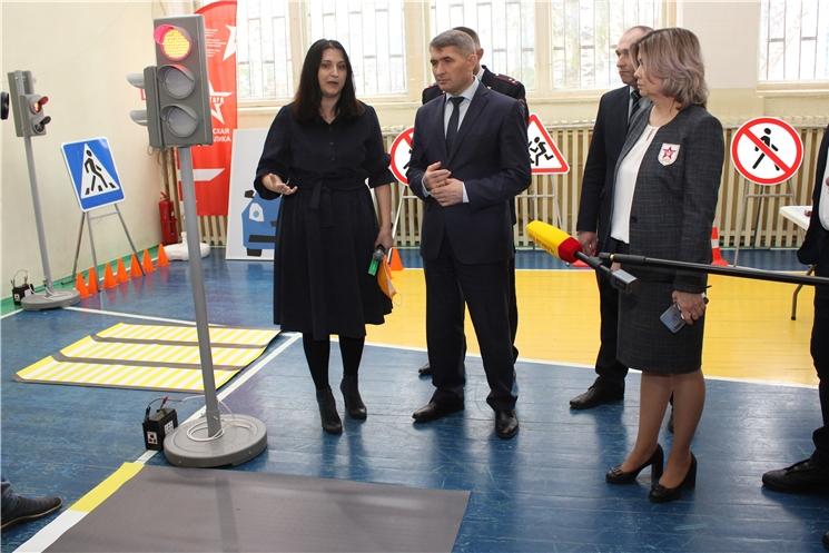 На базе Чувашского республиканского института образования открылся Центр по профилактике детского дорожно-транспортного травматизма в Чувашии