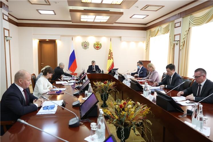 В Доме правительства обсудили концепцию развития системы водоснабжения и водоотведения на территории Чувашской Республики