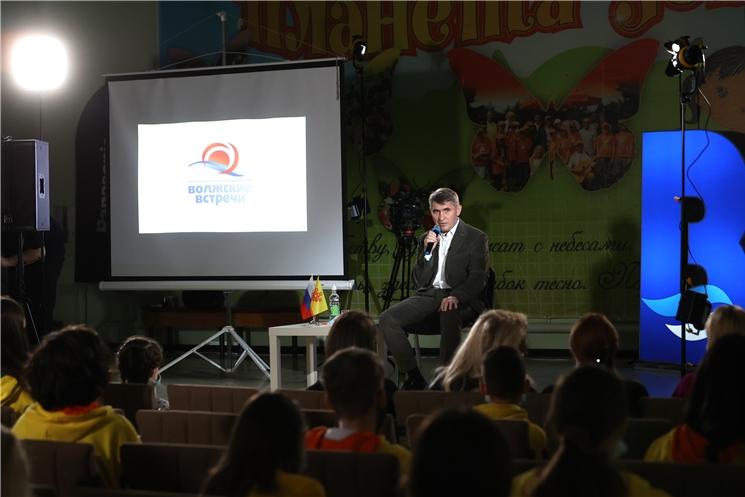 Олег Николаев посетил фестиваль юношеских СМИ и киностудий «Волжские встречи-31»