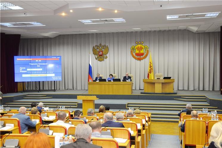 Депутаты Госсовета республики поддержали внесенные Главой Чувашии законопроекты