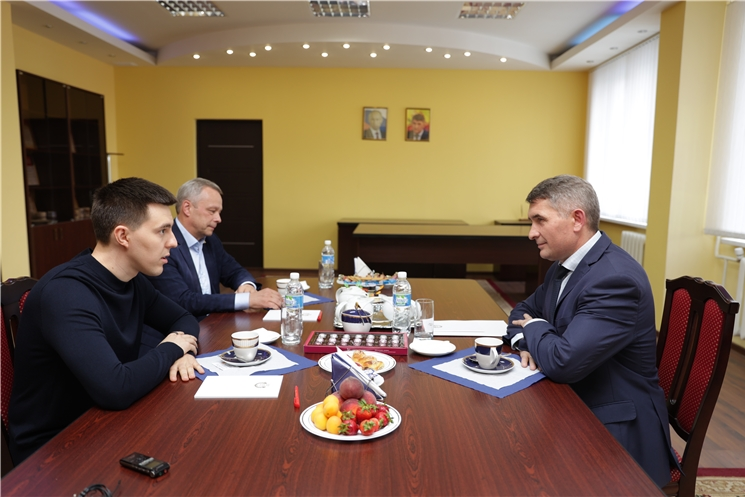 Встреча Олега Николаева с Григорием Соловьевым