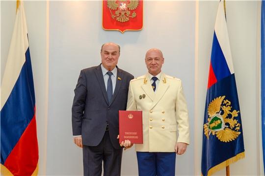 Юрий Кислов принял участие в праздновании Дня работника прокуратуры Российской Федерации
