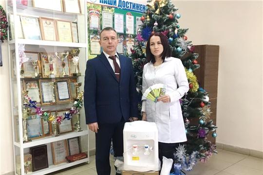 Альбина Егорова продолжает осуществлять постоянное шефство над Чебоксарской районной больницей