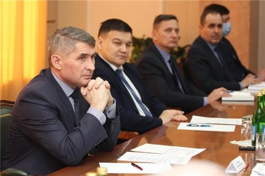 Представители парламентских фракций на встрече с Главой республики