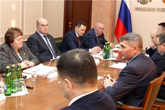 Состоялась встреча законодателей республики с Главой региона