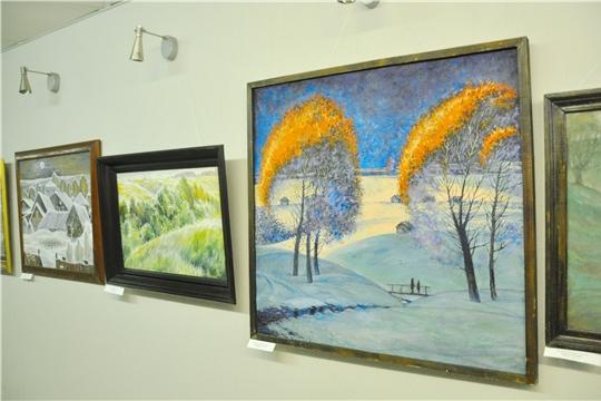 В Госсовете открылась экспозиция работ художника Виталия Яковлева