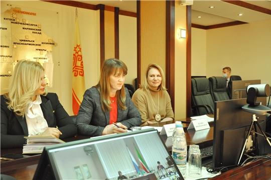 Женщины-депутаты Госсовета Чувашии приняли участие в обсуждении вопросов защиты прав женщин
