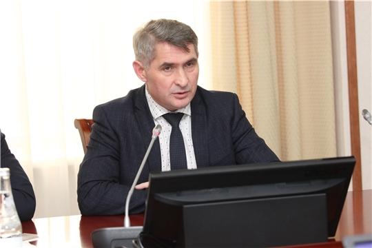 Встреча Главы Чувашии с руководством Государственного Совета республики и представителями депутатских фракций