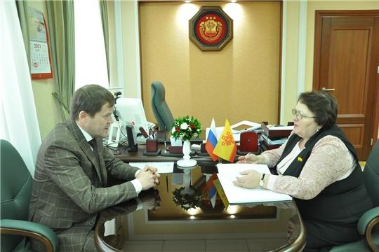 Встреча с Уполномоченным по правам человека в Чувашской Республике