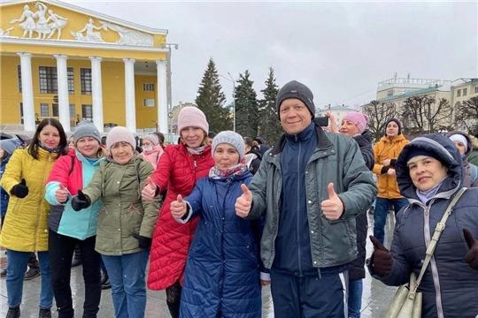 Дмитрий Арсютов принял участие в празднике здоровья и спорта