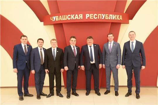 Сенаторы ознакомились с проектами, реализуемыми в рамках индивидуальной программы социально-экономического развития Чувашской Республики