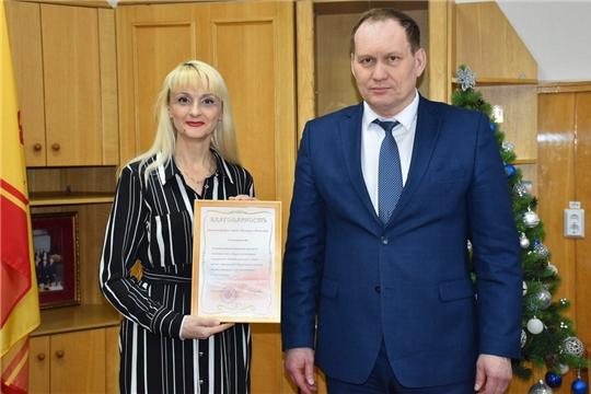 Глава администрации города Шумерля Валерий Шигашев поздравил местные СМИ с Днем Российской и Чувашской печати